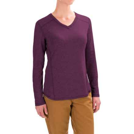 Carhartt Force High-Performance T-Shirt - Long Sleeve, Factory Seconds (For Women) in Potent Purple Heather - 2nds