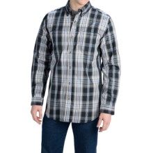 Carhartt Force Mandan Plaid Shirt - Long Sleeve (For Men) in Black - Closeouts