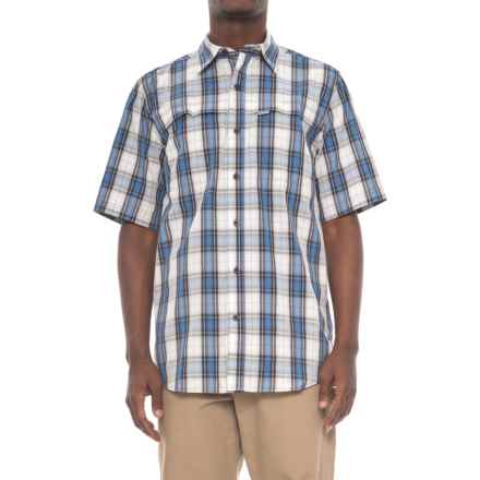 Carhartt Force Mandan Plaid Shirt - Short Sleeve, Factory Seconds (For Men) in Cool Blue - 2nds