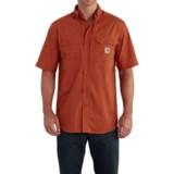 Carhartt Force® Ridgefield Shirt - Short Sleeve (For Big and Tall Men)