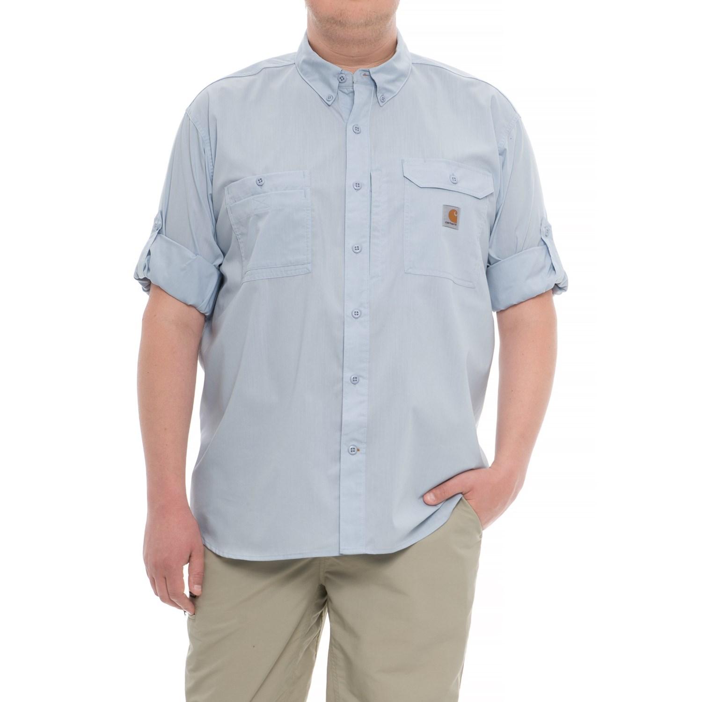a0e5f5265a Carhartt Force Ridgefield Short Sleeve Shirt | Toffee Art