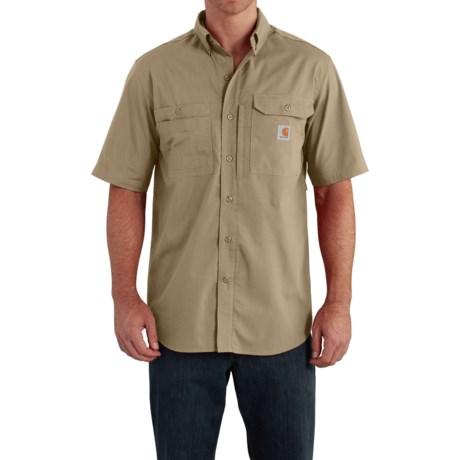 Carhartt Force Ridgefield Solid Shirt - Short Sleeve (For Men)