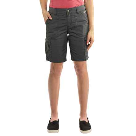 Carhartt Force Rugged Flex Lakota Shorts - Factory Seconds (For Women) in Shadow - 2nds