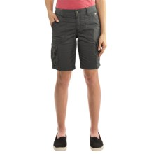 Carhartt Force Rugged Flex Lakota Shorts (For Women) in Shadow - 2nds