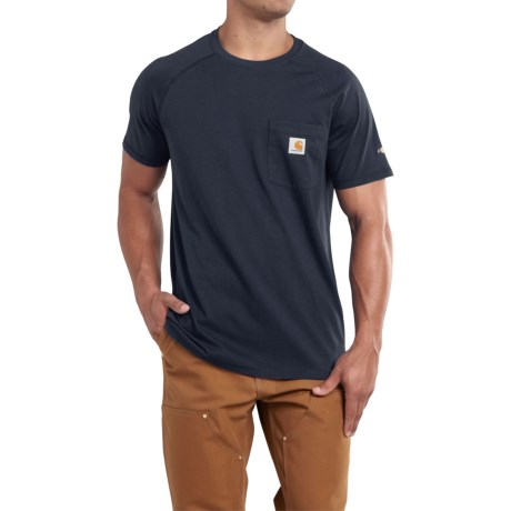 Carhartt Force T-Shirt - Short Sleeve (For Big and Tall Men)