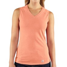 Carhartt Force Tank Top (For Women) in Peach Fuzz Heather - 2nds