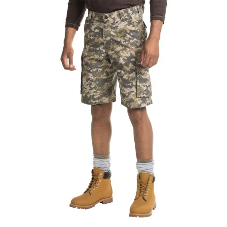 Carhartt Force Tappen Cargo Shorts - Relaxed Fit, Factory Seconds (For Men) in Dark Khaki Digi Camo