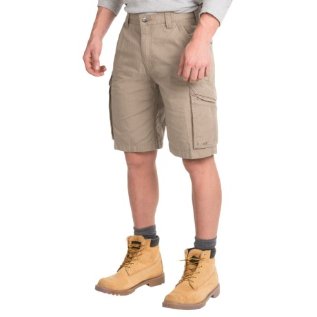 Carhartt Force Tappen Cargo Shorts - Relaxed Fit, Factory Seconds (For Men) in Tan