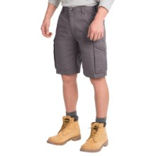 Carhartt Force Tappen Cargo Shorts - Relaxed Fit (For Men) in Gravel - 2nds