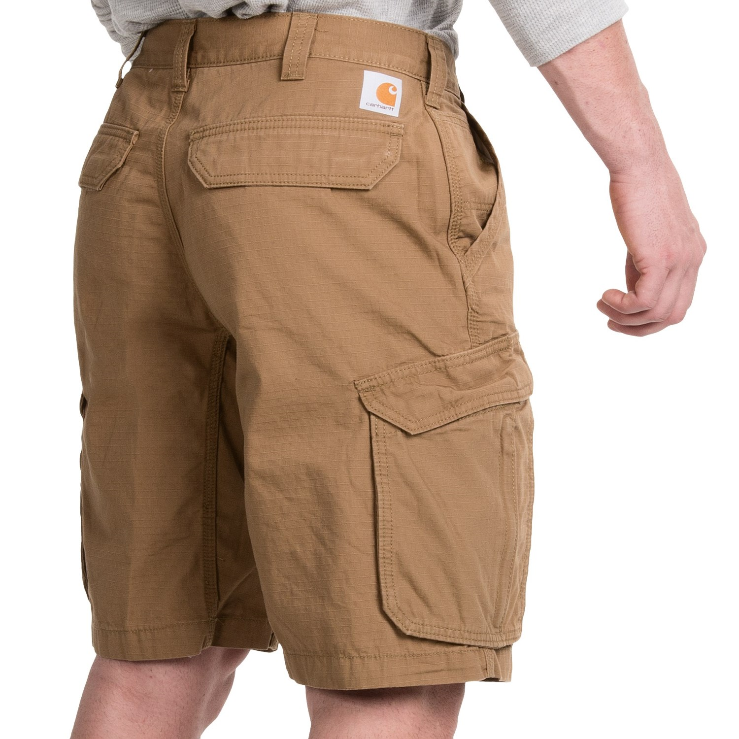 For fast-paced workouts, a short, lightweight and breathable pair of running shorts or athletic shorts is ideal. For working outside and general wear, a pair of medium-length cargo shorts or work shorts is always a versatile option.