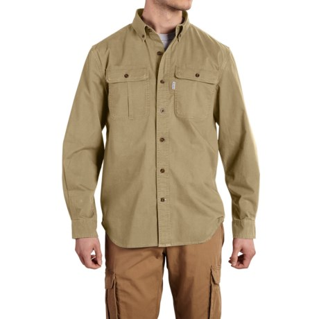 Carhartt Foreman Solid Work Shirt - Long Sleeve, Factory Seconds (For Men)
