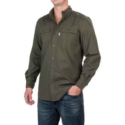 Carhartt Foreman Solid Work Shirt - Long Sleeve, Factory Seconds (For Men) in Moss - 2nds