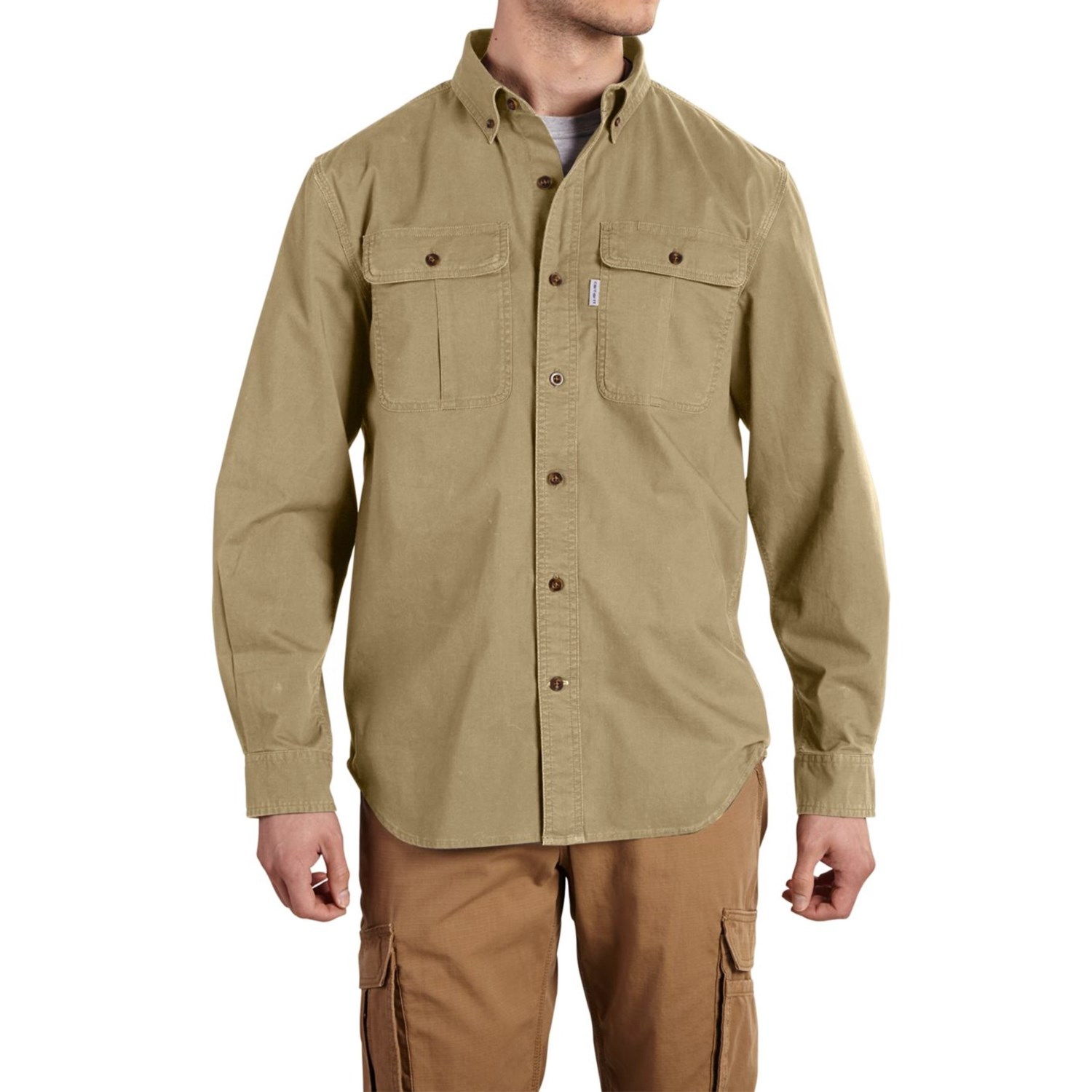 Carhartt Foreman Solid Work Shirt For Big And Tall Men