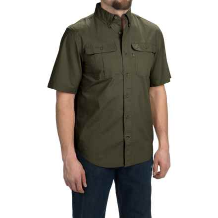 Carhartt Foreman Solid Work Shirt - Short Sleeve (For Men) in Moss - 2nds