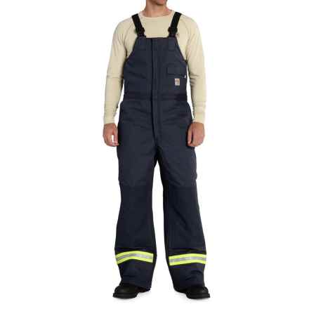 Carhartt FR Extremes® Arctic Bib Overalls - Insulated (For Big and Tall Men) in Dark Navy - Closeouts