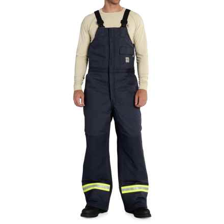 Carhartt FR Extremes® Arctic Bib Overalls - Insulated (For Men) in Dark Navy - Closeouts
