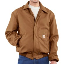 Carhartt FR Flame-Resistant All-Season Bomber Jacket (For Men) in Carhartt Brown - 2nds