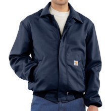 Carhartt FR Flame-Resistant All-Season Bomber Jacket (For Men) in Dark Navy - 2nds