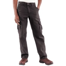 Carhartt FR Flame-Resistant Canvas Cargo Pants (For Men) in Black - 2nds