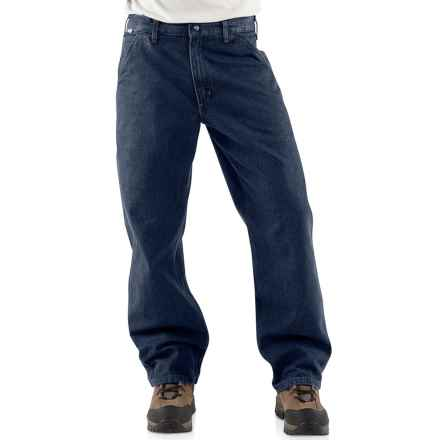 Carhartt FR Flame-Resistant Denim Dungaree Jeans - Factory Seconds (For Men) in Classic Dark - 2nds