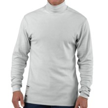 Carhartt FR Flame-Resistant Mock Turtleneck - Long Sleeve (For Big and Tall Men) in Light Grey - Closeouts