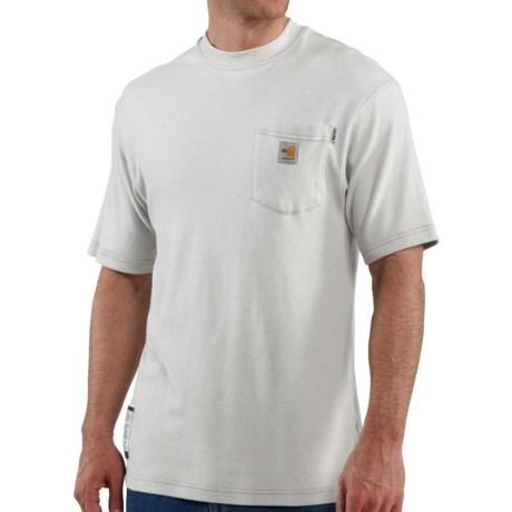 Carhartt FR Flame-Resistant T-Shirt - Short Sleeve (For Men) in Light Grey