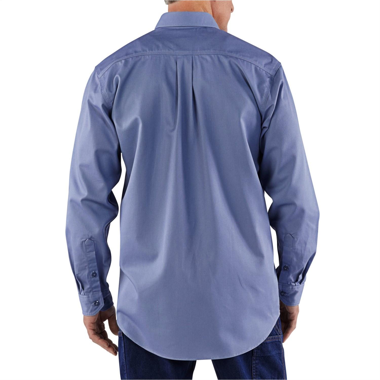 Carhartt Fr Flame Resistant Tradesman Shirt For Tall Men