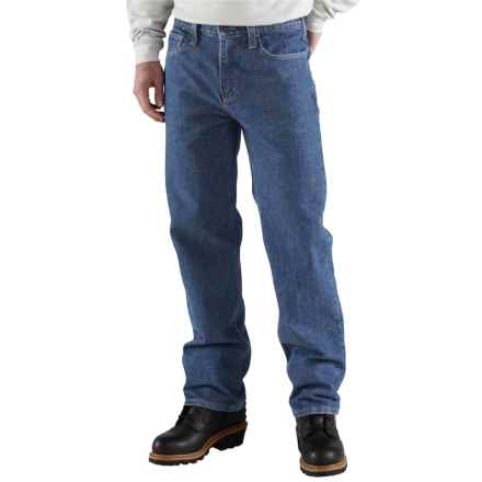 Carhartt FR Flame-Resistant Utility Jeans - Relaxed Fit, Factory Seconds (For Men) in Midstone - 2nds