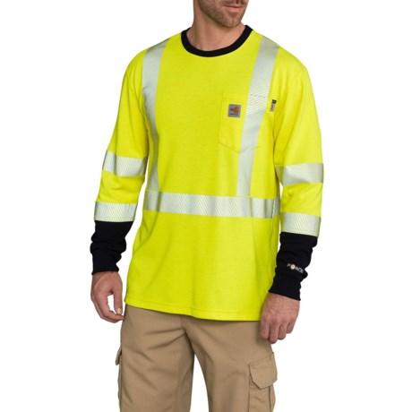 b2e61c6552eb Carhartt FR High-Vis Force® T-Shirt - Long Sleeve