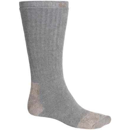 Carhartt Full Cushion Steel Toe Socks - Crew (For Men) in Grey - Closeouts