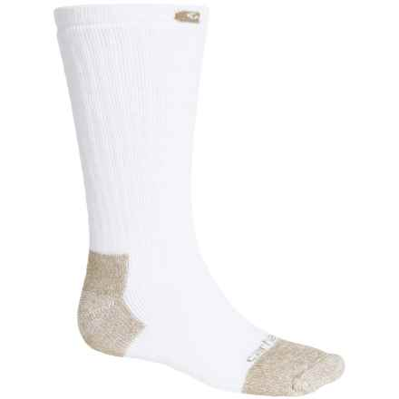 Carhartt Full Cushion Steel Toe Socks - Crew (For Men) in White - Closeouts