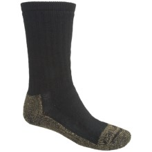 Carhartt Full Cushion Work Boot Socks - Heavyweight, Crew (For Men) in Heather Black - 2nds