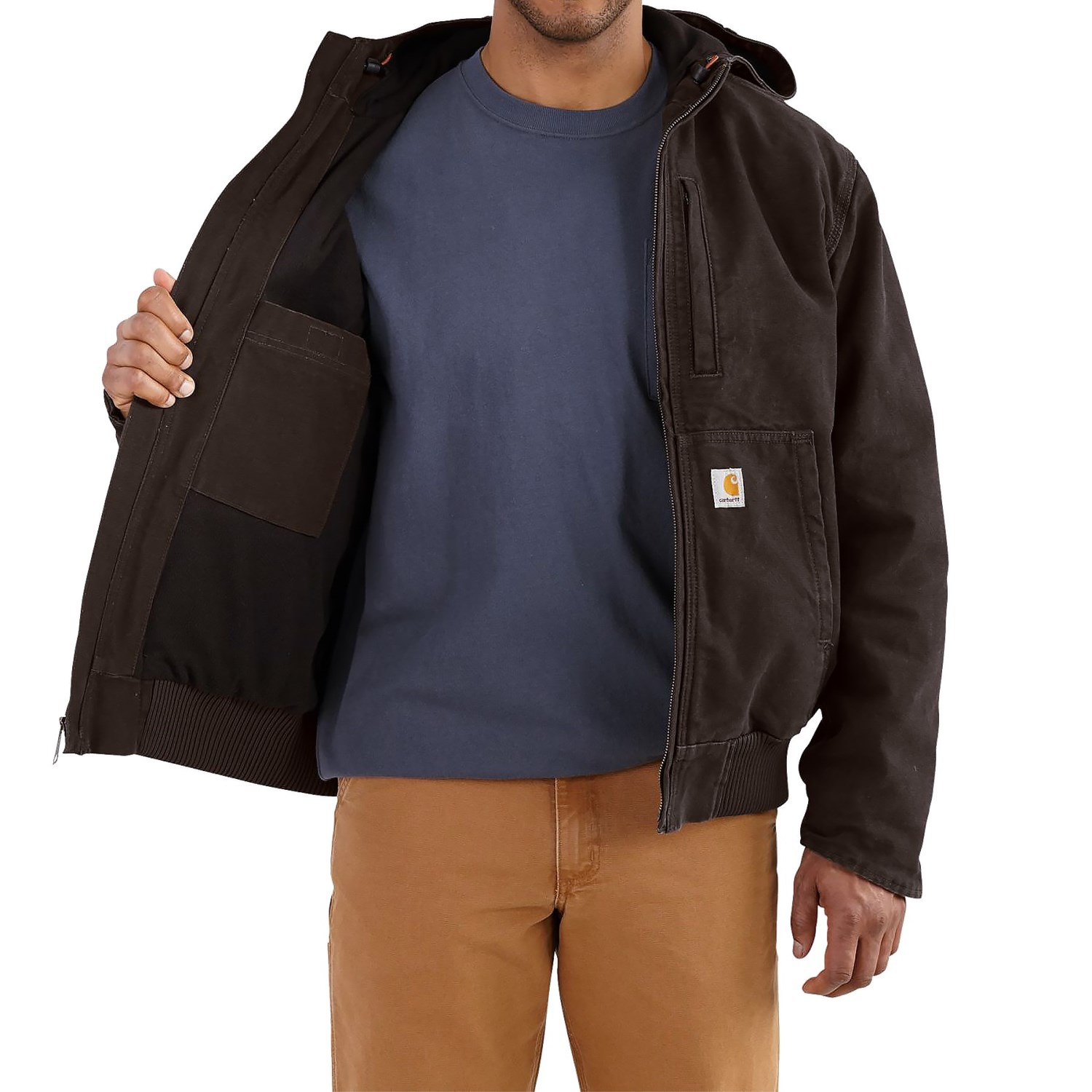carhartt full swing armstrong active jacket for men #1: carhartt full swing armstrong active jacket factory seconds for men a 149pk 2 1500 1