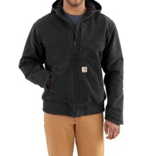 Carhartt Full Swing Armstrong Active Jacket - Fleece Lined (For Men) in Black - 2nds