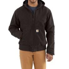 Carhartt Full Swing Armstrong Active Jacket - Fleece Lined (For Men) in Dark Brown - 2nds
