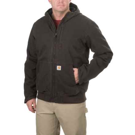 Carhartt Full Swing Armstrong Active Jacket - Sherpa Lining, Factory Seconds (For Big and Tall Men) in Dark Brown - 2nds