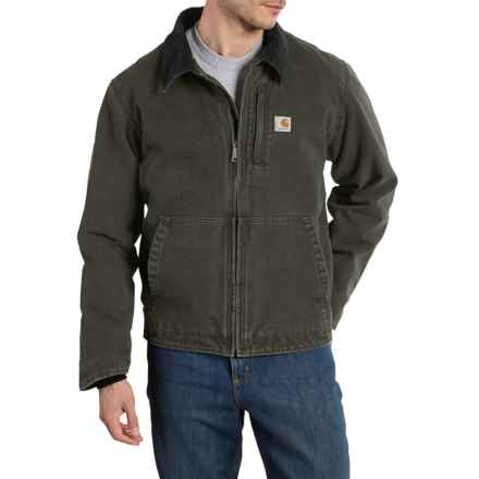 Carhartt Full Swing Armstrong Jacket - Factory Seconds (For Big and Tall Men) in Moss - 2nds