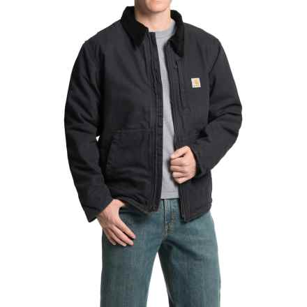 Carhartt Full Swing Armstrong Jacket - Fleece Lined, Factory Seconds (For Men) in Black - 2nds