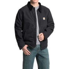 Carhartt Full Swing Armstrong Jacket - Fleece Lined (For Men) in Black - 2nds