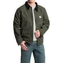 Carhartt Full Swing Armstrong Jacket - Fleece Lined (For Men) in Moss - 2nds