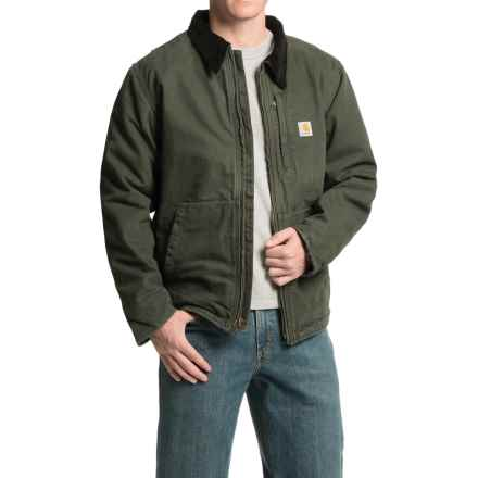 Carhartt Full Swing Armstrong Jacket - Fleece Lined (For Men) in Moss - 2nds