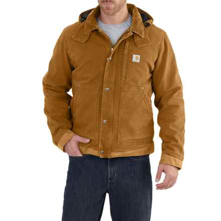 Carhartt Full Swing Caldwell Jacket - Insulated, Factory Seconds (For Big and Tall Men) in Carhartt Brown - 2nds