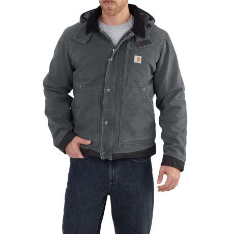 Carhartt Full Swing Caldwell Jacket - Insulated, Factory Seconds (For Big and Tall Men) in Shadow