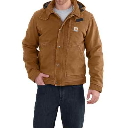 Carhartt Full Swing Caldwell Jacket - Insulated, Factory Seconds (For Men) in Carhartt Brown - 2nds