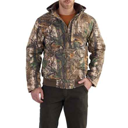 Carhartt Full Swing Camo Active Jacket - Insulated, Factory Seconds (For Men) in Realtree Xtra - 2nds