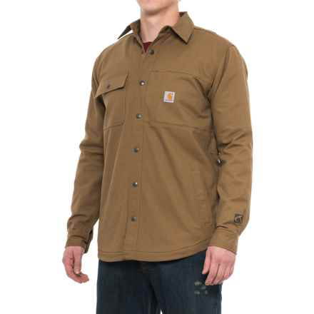 Carhartt Full Swing® Cryder Shirt Jacket - Snap Front, Factory Seconds (For Men) in Yukon - 2nds