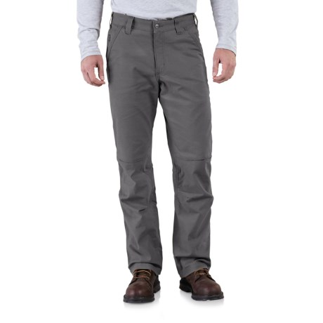 Carhartt Full Swing Quick Duck Cryder Dungaree Pants (For Men) in Shadow