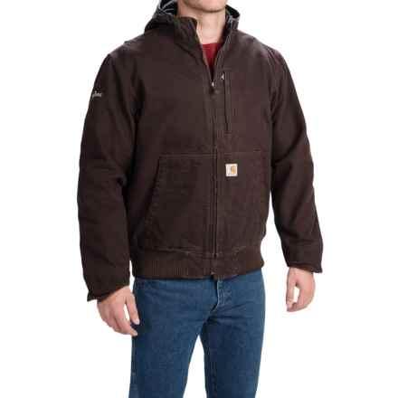 Carhartt Full Swing Sandstone Active Jacket - Factory Seconds (For Men) in Dark Brown - 2nds