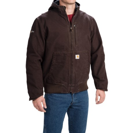 Carhartt Full Swing Sandstone Active Jacket - Factory Seconds (For Men) in Dark Brown