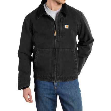 Carhartt Full Swing Sandstone Jacket - Factory Seconds (For Men) in Black - 2nds